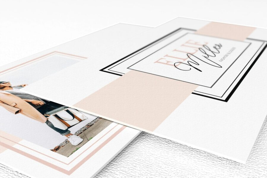 Uptown Website Branding Kit Template