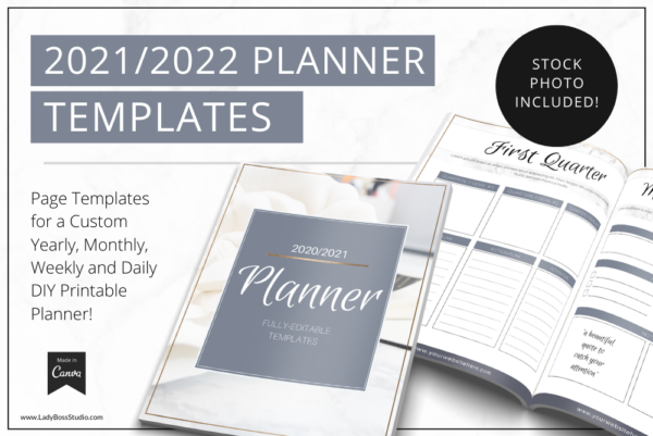 Modern Gold Planner Feature Image