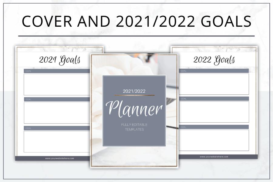 Modern Gold Planner