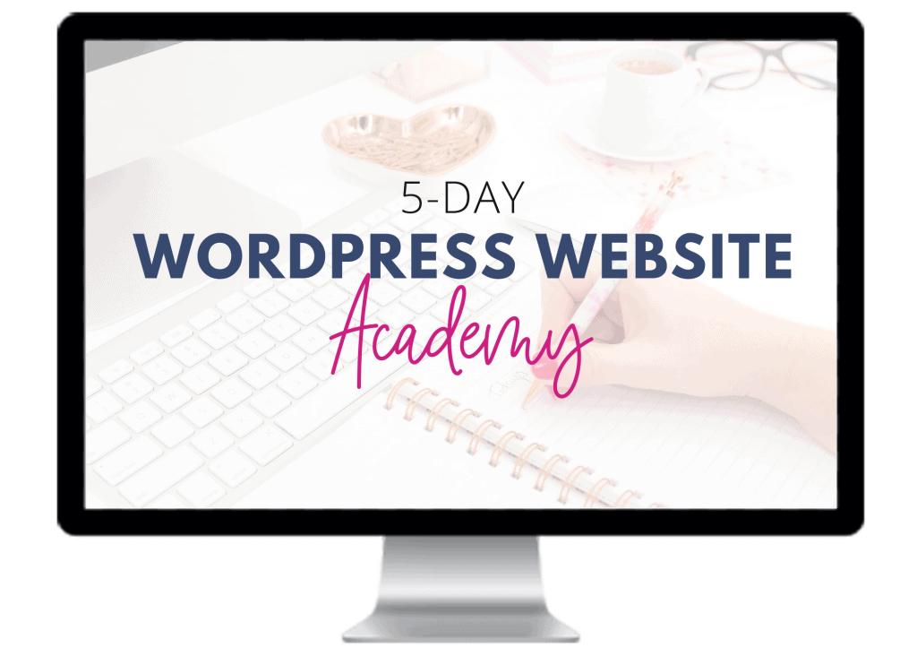 Wordpress Website Academy