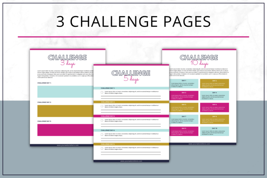 Bold Challenge Pack