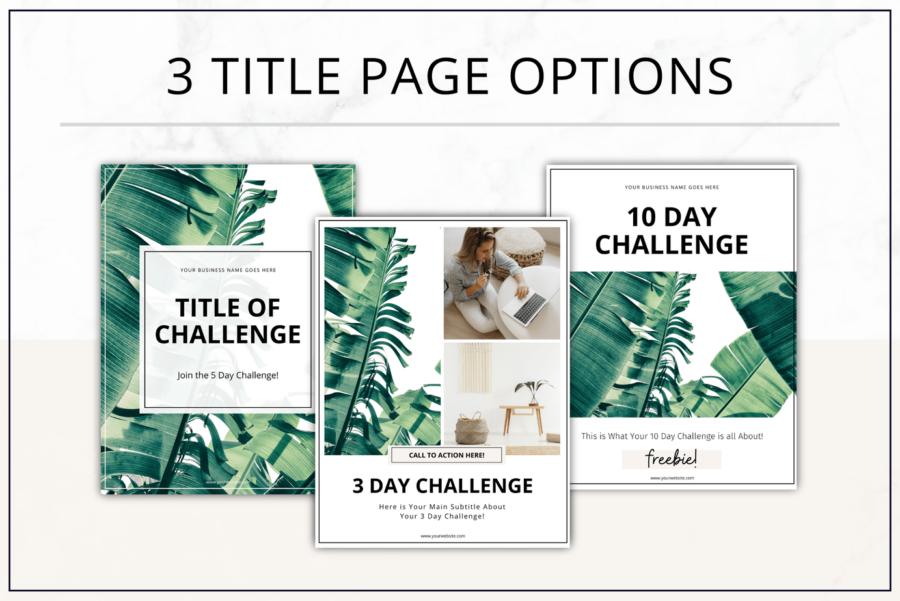 Fresh Challenge Pack