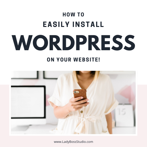 How To Easily Install WordPress On Your Website Feature Image