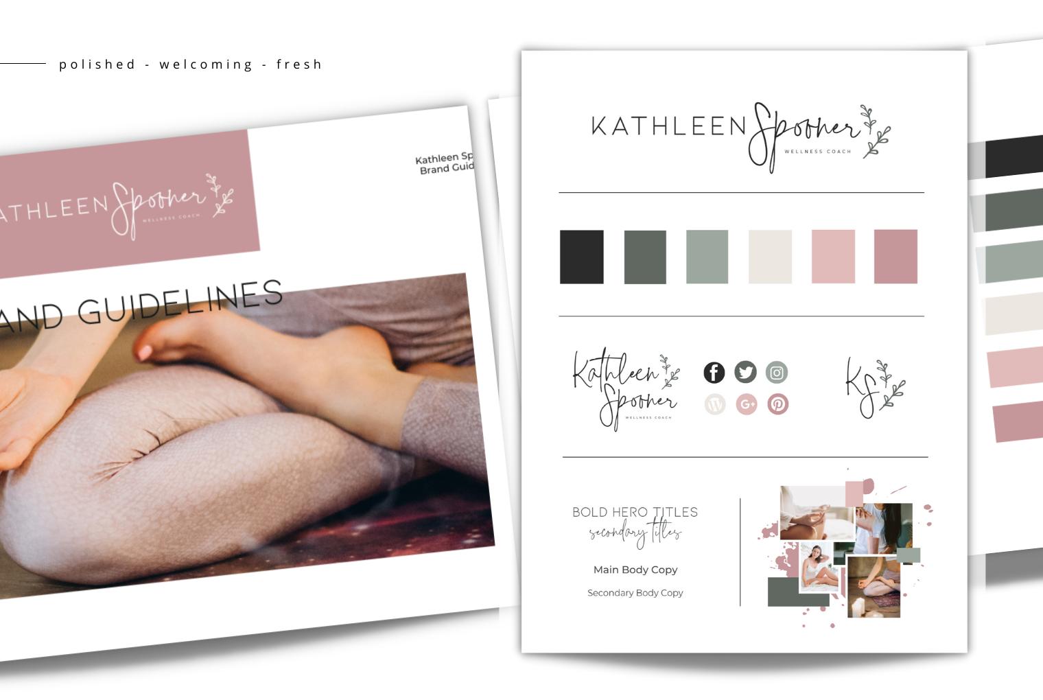 Kathleen Spooner Semi-Custom Branding