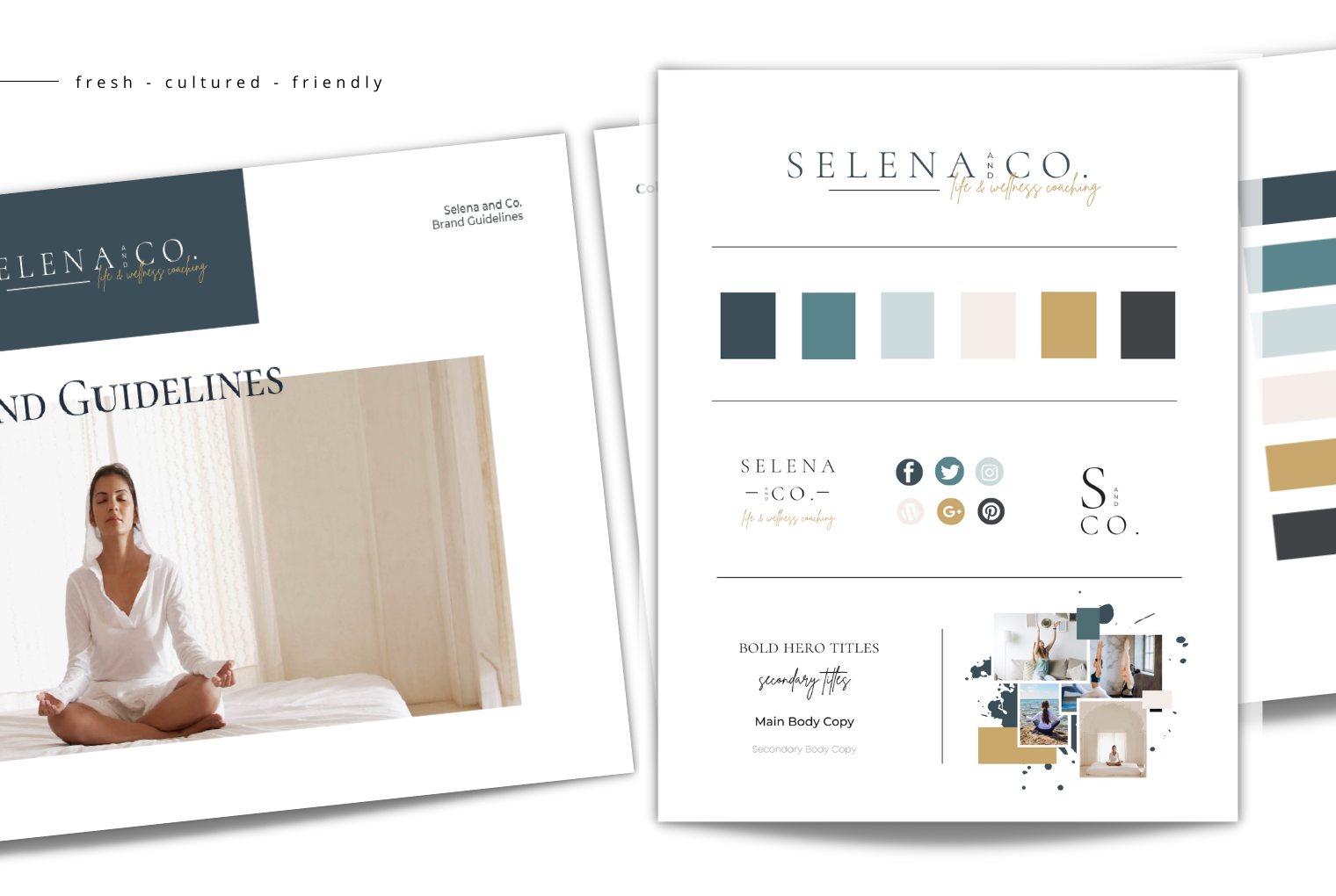 Selena And Co. Semi-custom branding