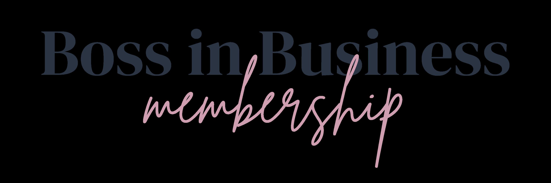 Boss in Business Membership Feature Logo
