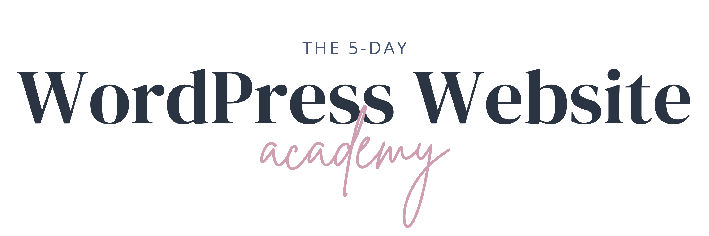 The WordPress Website Academy