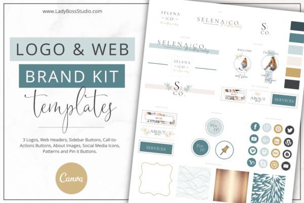 Nurtured Life Website Branding Kit Feature Image